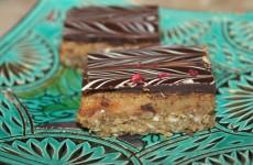 Shortbread millionare med karamel og chokolade