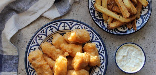 Fish'n'chips med tartarsauce