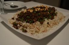 Ris med ærter