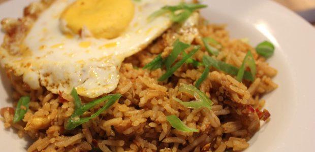 Nasi goreng (Indonesisk stegte ris)