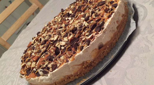 No bake banoffee cheesecake