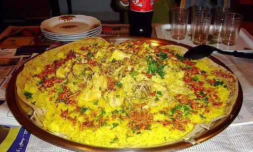 arabisk kylling