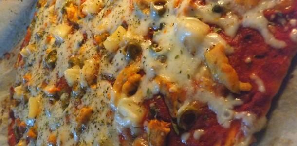 bedste og letteste pizzadej pizza